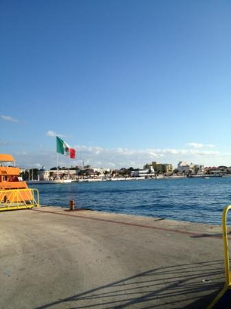 Vista del Mar Boutique Hotel: arriving in Cozumel