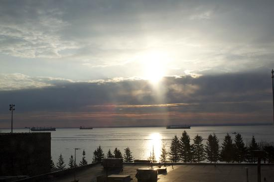 Sheraton Duluth Hotel: Beautiful view!