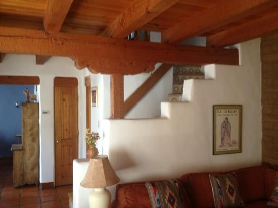 Las Brisas de Santa Fe: Stairway to Upstairs Bedrooms in Unit 19