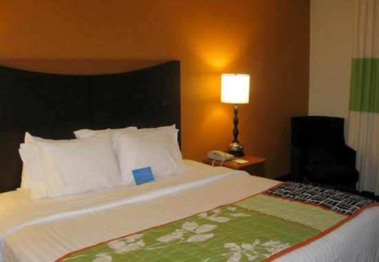 Fairfield Inn Dubuque: King Guest Room