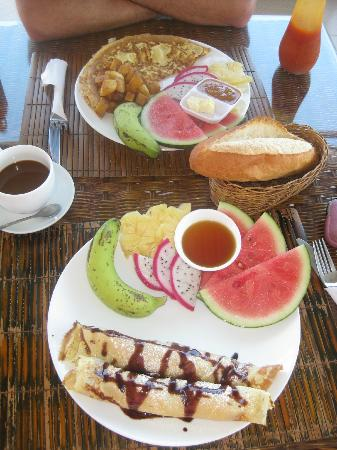 Ha Van Hotel: Best breakfast of my Vietnam holiday