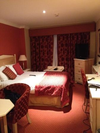 Newgrange Hotel: room at front of hotel