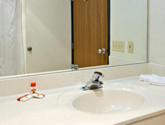 Super 8 Hotel Petoskey: Bathroom