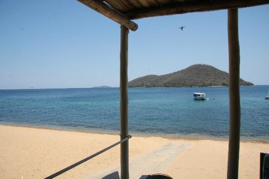 Cape Maclear, Malawi: view from watersport center