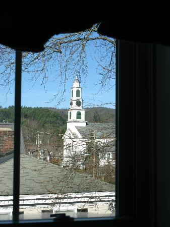 Inn Victoria: view from sitting/ tv room