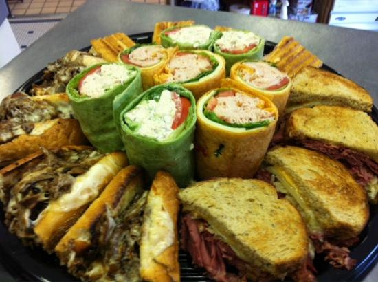 All kinds of catering.... Hot and Cold sandwiches ...