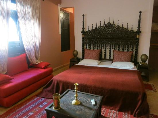 Riad d'Or Meknes Medina: Our room Idrisse
