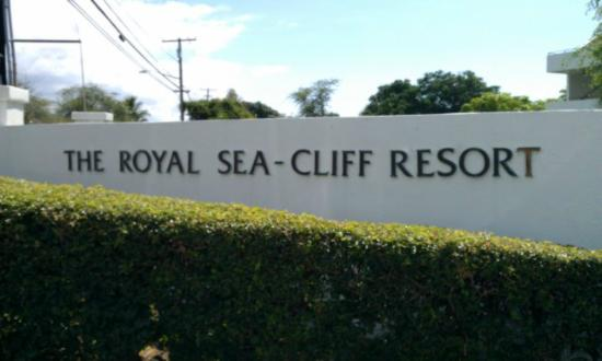 Wyndham Royal Sea Cliff: Entrance