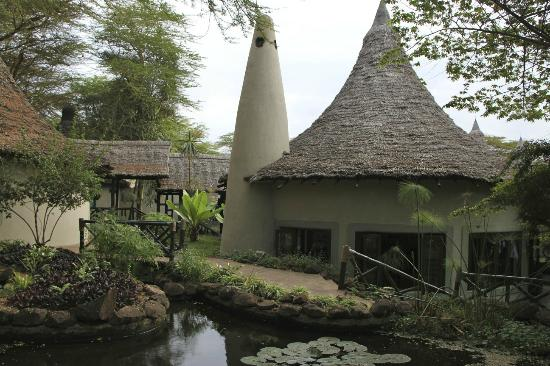 Lake Manyara Serena Lodge: grounds