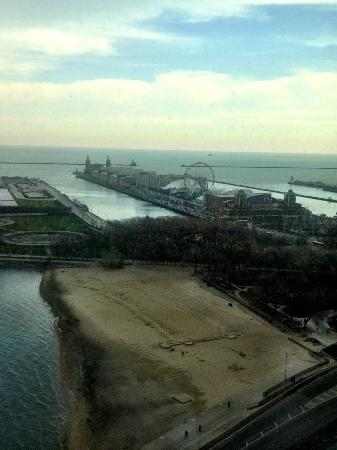 W Chicago Lakeshore: Floor 25 - awesome view