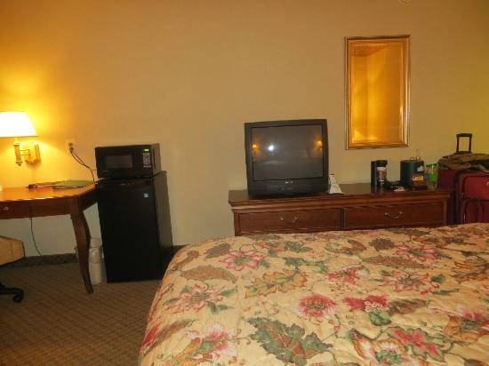 Country Inns & Suites BWI Airport: Room 225 - Outdated Television