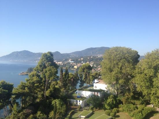 Corfu Holiday Palace: view from room