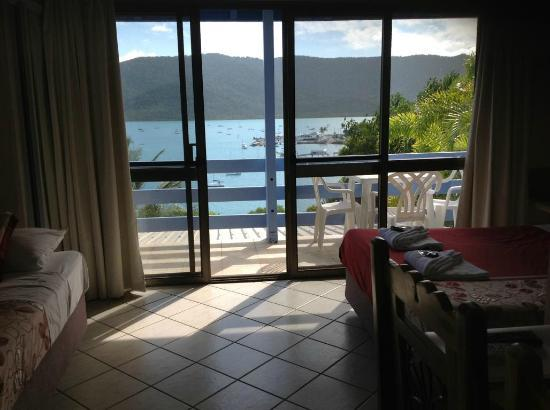 Shute Harbour, Australien: Aussicht aus dem Zimmer