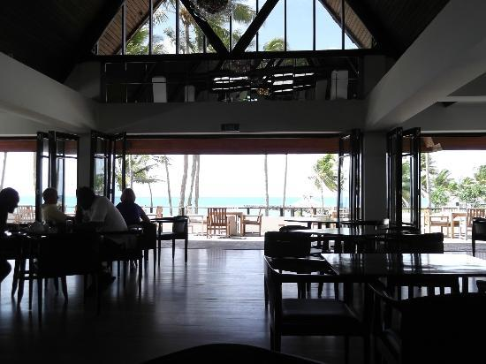 The Pearl South Pacific: The view at breakfast