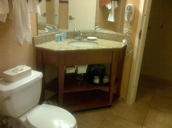 Hampton Inn Albuquerque - University / Midtown: Hampton Inn Albq Midtown Queen Room Bath 1st Floor
