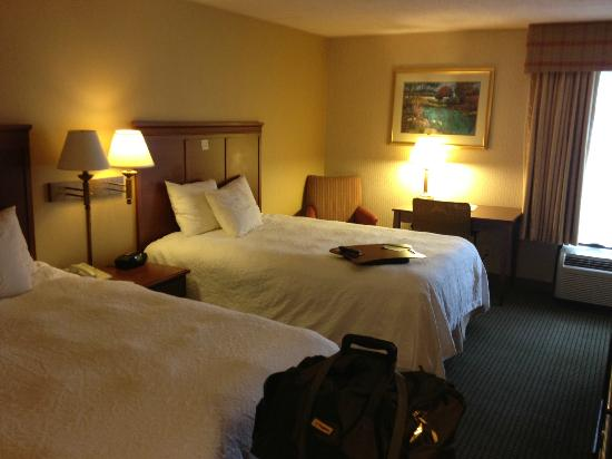 Hampton Inn Lancaster: camera doppia
