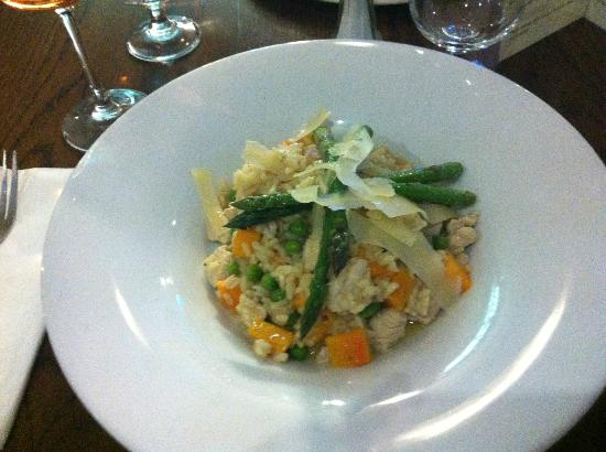 Eliza Lodge: Delicious rissotto from The Italian Corner