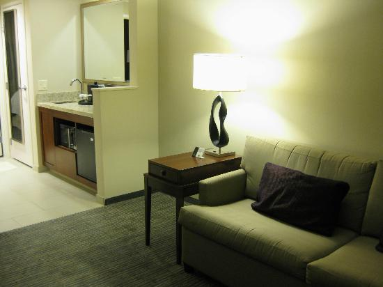Embassy Suites Denver - Downtown / Convention Center: living room/coffee area