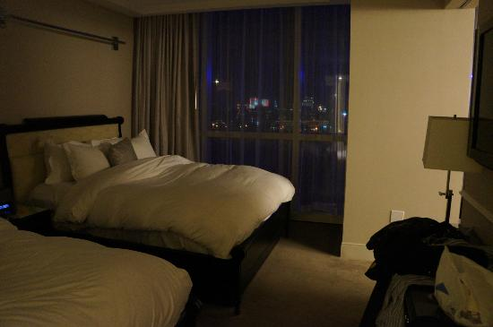 Hard Rock Hotel and Casino: les 2 lits king size