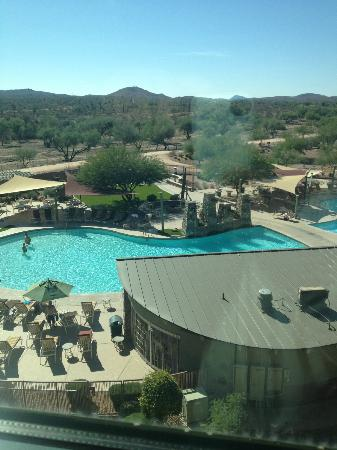 We-Ko-Pa Resort & Conference Center: Pool View from room
