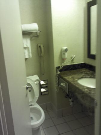 Holiday Inn SoHo New York: Nice Bathroom (As You'd Expect!)