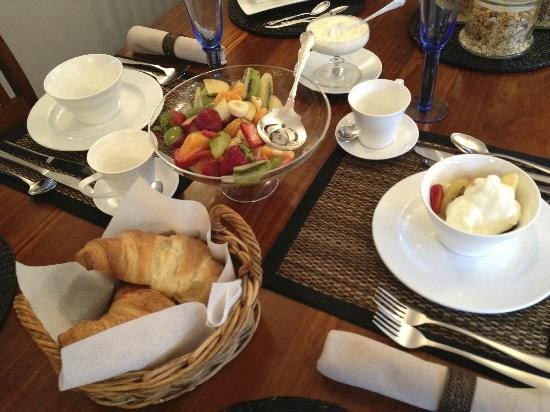 Ika Lodge: breakfast course 1