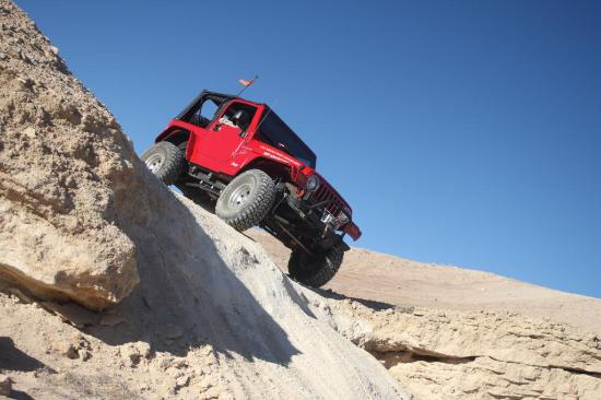 Las Vegas Rock Crawlers: Great Terrain!