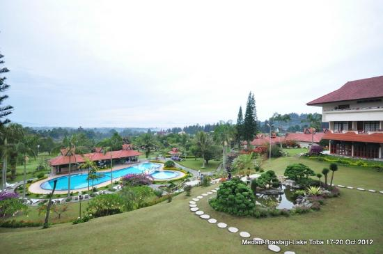 Sinabung Resort Hotel: Nice view