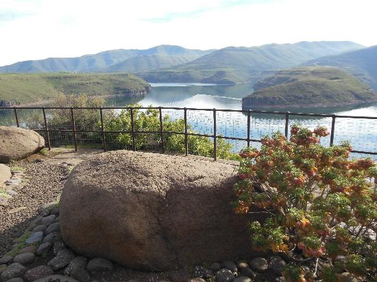 Bokong, Lesotho: Panoramic view from patio