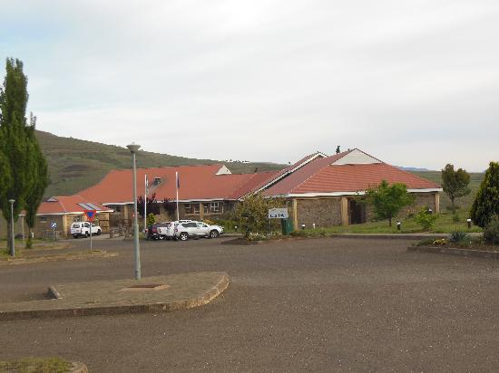 Bokong, Lesotho: Entrance to lodge