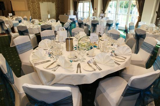 Wedding breakfast &quot;Hadlow Suite&quot;