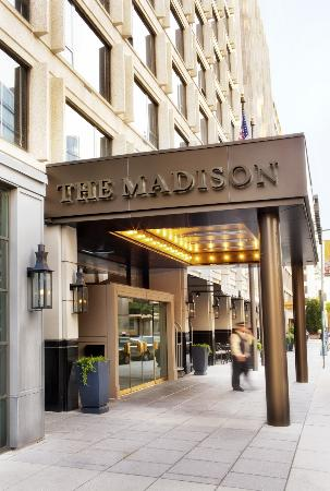 Loews Madison Hotel: The Madison Entrance