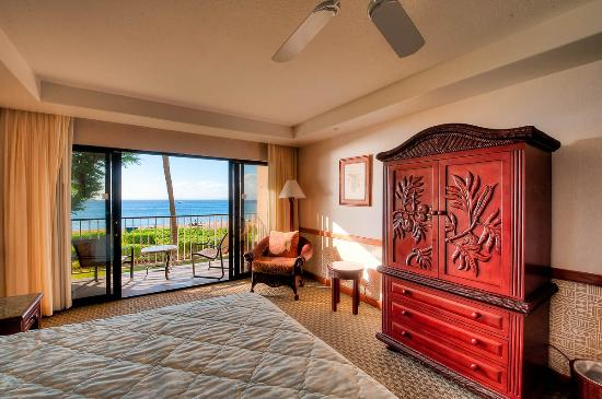 Ka'anapali Beach Hotel: Ocean front view is un-obstructed!