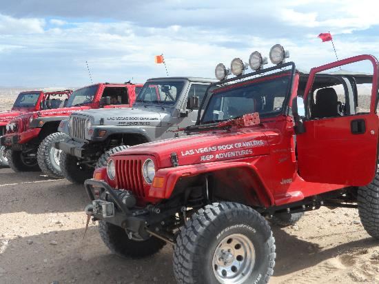Las Vegas Rock Crawlers: Jeep Lineup