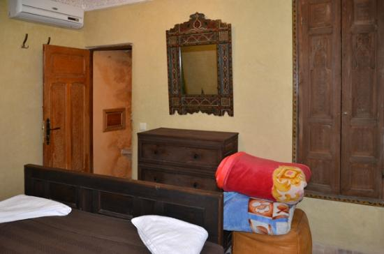 Riad Layalina: the 2nd bedroom