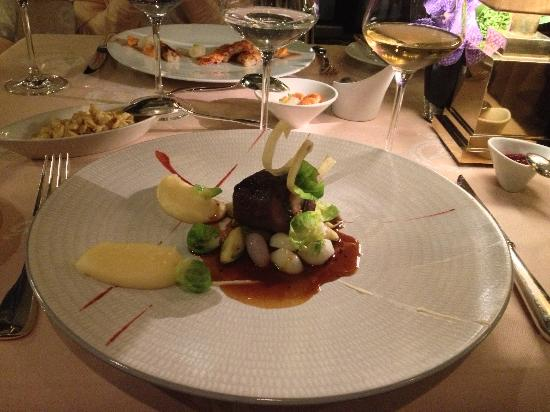 Russian Main Course http://www.tripadvisor.in/Restaurant_Review-g188057-d2218339-Reviews-Windows_Restaurant_at_Hotel_d_Angleterre-Geneva.html