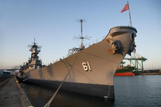 Battleship Uss Iowa Bb 61 Los Angeles Ca Hours