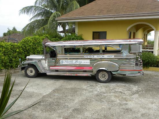 Turtle Bay Dive Resort: the resort's jeepney