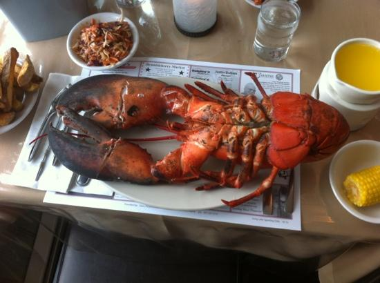 Sinclair, ME: that is called lobster, great food and great service