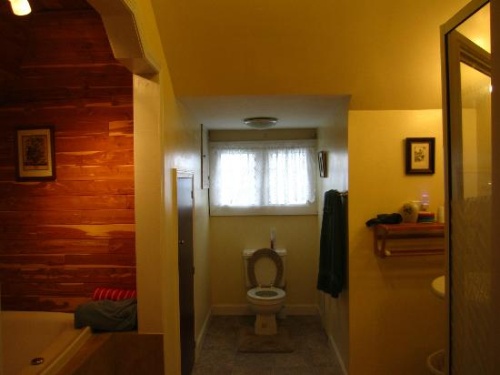 MayneView Bed & Breakfast: Huguenot Knight Suite Bathroom