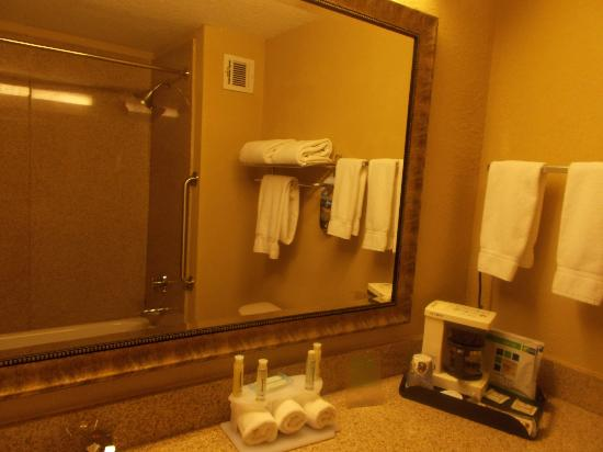 Holiday Inn Express Peachtree Corners/Norcross : GRANITE SHOWER