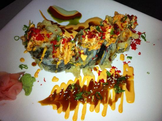 Las vegas roll picture of formosa asian cuisine iowa for Asian cuisine las vegas