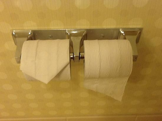 Hilton Garden Inn Las Vegas - Strip South: paper: worse than in an airplane