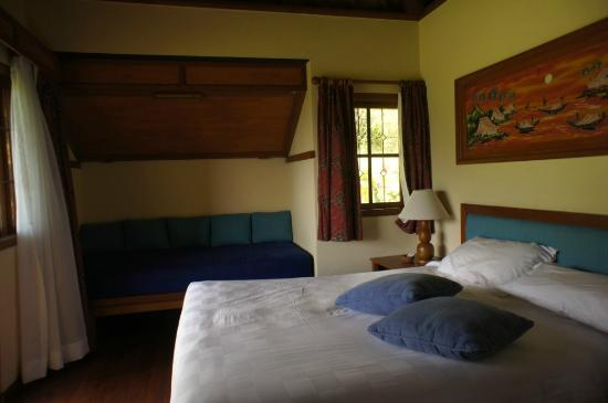 Strawberry Hill Hotel: in the room