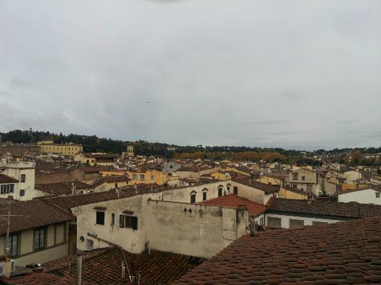 Palazzo Magnani Feroni: a view from the roof terrace