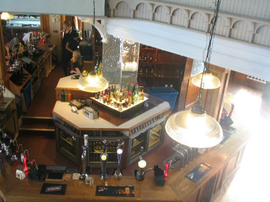 Birds Eye View Main Bar Picture Of Rhubarb Huddersfield