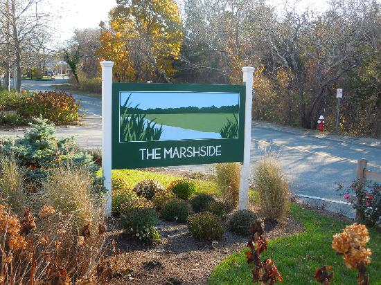 East Dennis, : Marshside sign