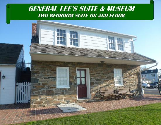 Quality Inn at General Lee's Headquarters: General lee's Suite