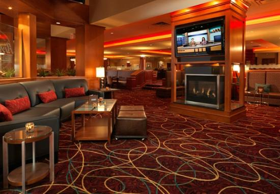 Austin Marriott North: Bar Area