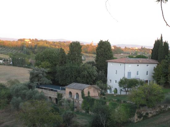 Villa Patrizia: View from Room - Valley Below